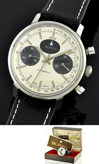 Used Breitling Watches >> Buren Chronograph - WatchesToBuy.com