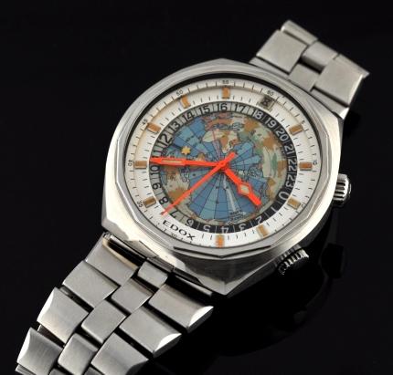 Used Breitling Watches >> Edox Geoscope - WatchesToBuy.com