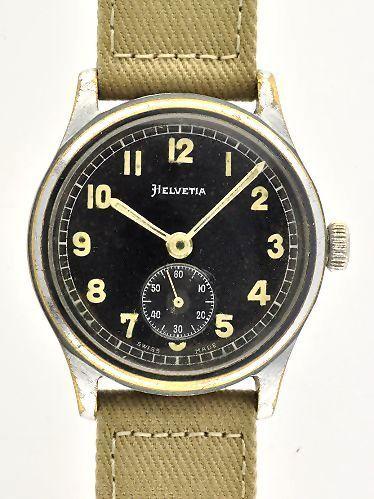 Used Breitling Watches >> Helvetia German Military WW2 - WatchesToBuy.com