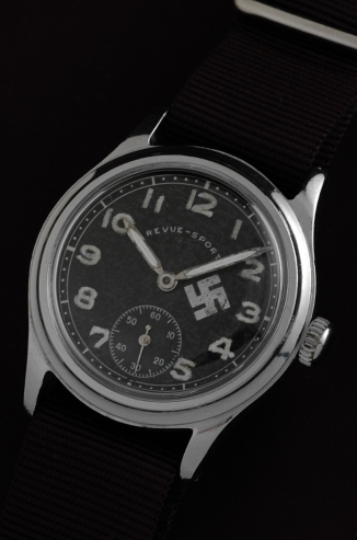 Breitling Watches For Sale >> Revue Sport Swastika Military Watch - WatchesToBuy.com