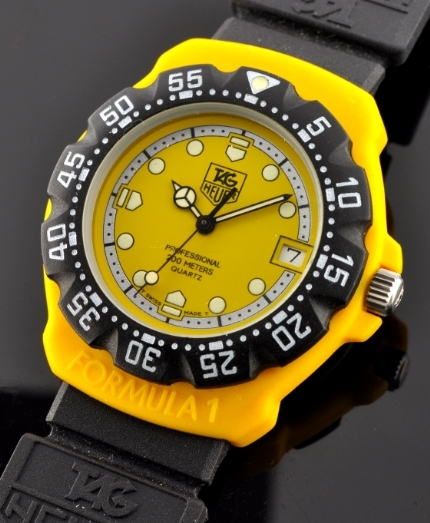 Tag Heuer F1 200m Yellow Dive Watch Watchestobuy Com