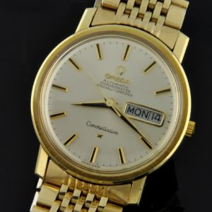 vintage omega watches for used antique watchestobuy com omega constellation gold plated 1969