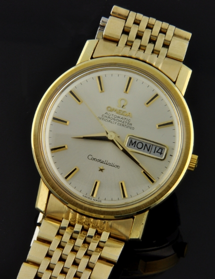 Omega Constellation Gold Plated 1969