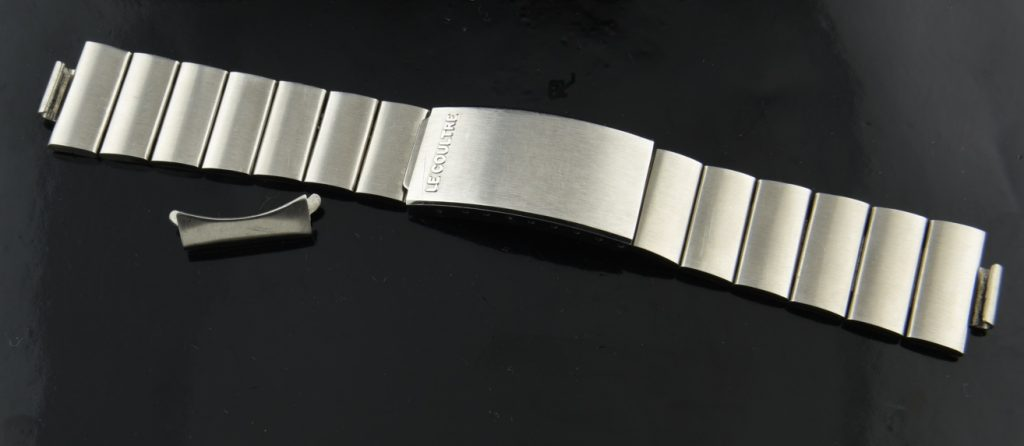 Le Coulre Vintage Stainless Steel Bracelet For Sale