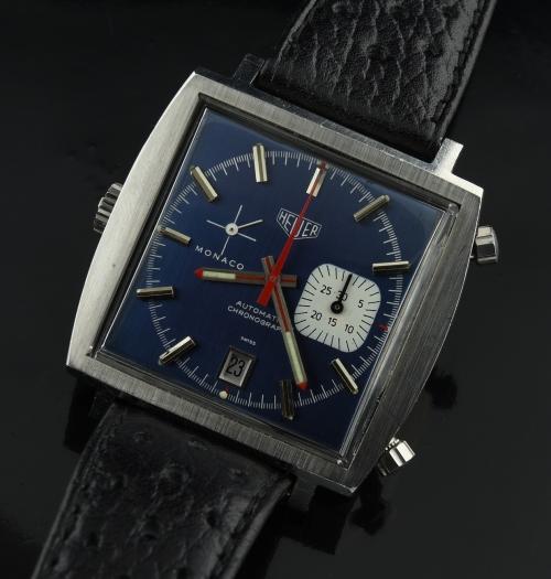 Heuer Caliber 15 Monaco 1970's Chronograph
