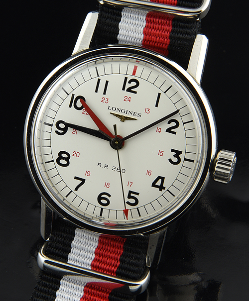 Longines Railroad Watch Rare