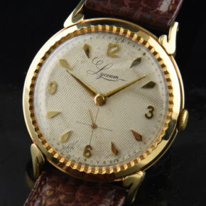 Lyceum 14k. Solid Gold 1950's Watch