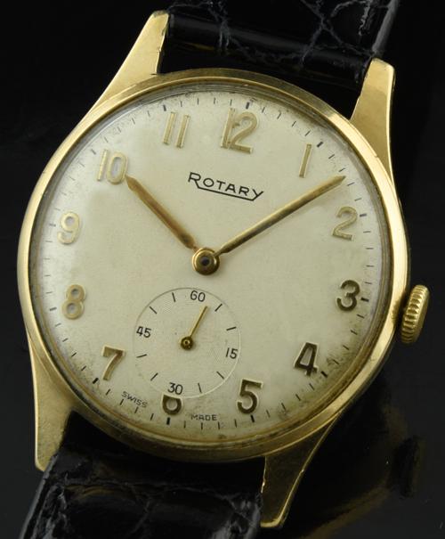 Rotary 9k. gold 1950's