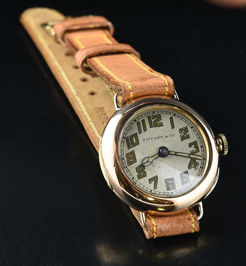 Tiffany & Co. 1920's solid gold vintage watch